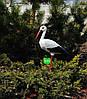 Садовая фигура Семья садовых аистов в гнезде №1, фото 2