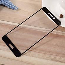 Защитное стекло OP Full cover для Huawei P10 черный