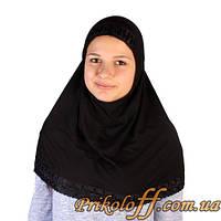 Хиджаб черный, был в прокате