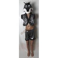 """Детский костюм """"Серый волк"""", блестящий"""