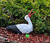 Садовая фигура Семья садовых аистов в гнезде №1, фото 4