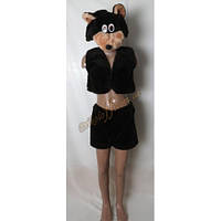 """Детский костюм """"Бурый медведь"""", меховой"""