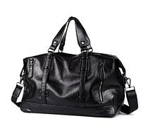 Стильная дорожная сумка из кожзама, фото 1