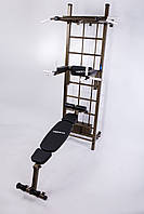 Гимнастический комплекс шведская стенка усиленная BOSS INTENSIIVE, фото 1