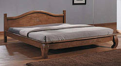 Кровать из натурального дерева двухспальная Жизель