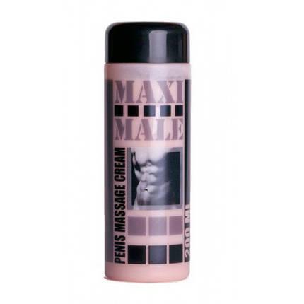 Крем для увеличения пениса Maxi Male, 200 мл , фото 2