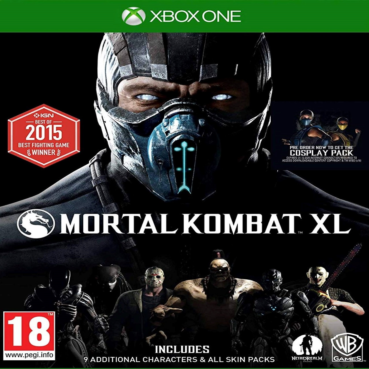 Mortal Kombat XL SUB XBOX ONE