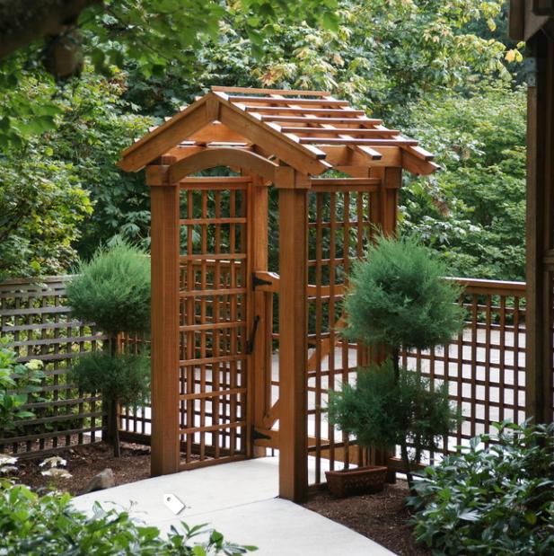 Импрегнация садово-парковой мебели