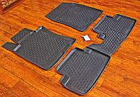 Резиновые автоковрики Honda Accord 8 2008-2013 года КОВРИКИ ПРЕМИУМ КАЧЕСТВА
