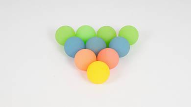 Мячик-прыгун из каучука. Микс цветов