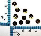 Пайетки круглые. Цвет - красный (тиснение), Ø - 6 мм, уп/20 грамм. №82, фото 2