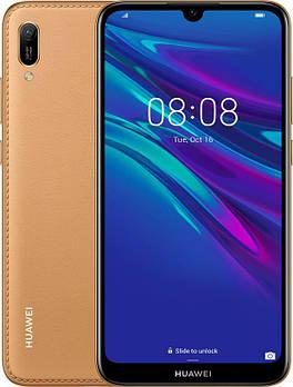 Huawei Y6 2019 Dual Sim Amber Brown Faux Leather