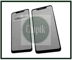 Стекло для переклейки дисплея Xiaomi Redmi Note 6 Pro, Черное