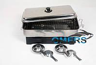 Коптильня EOS OVEN-SA из нержавеющей стали на две горелки