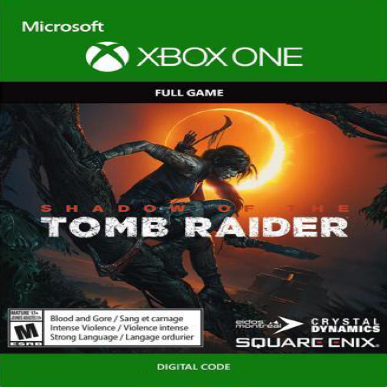 Shadow of the Tomb Raider RUS XBOX ONE (КОД)
