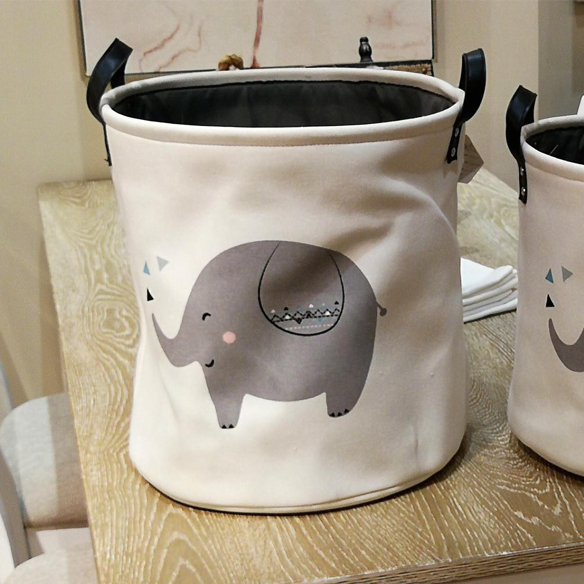 Корзина для игрушек, белья, хранения Big elephant Berni Home