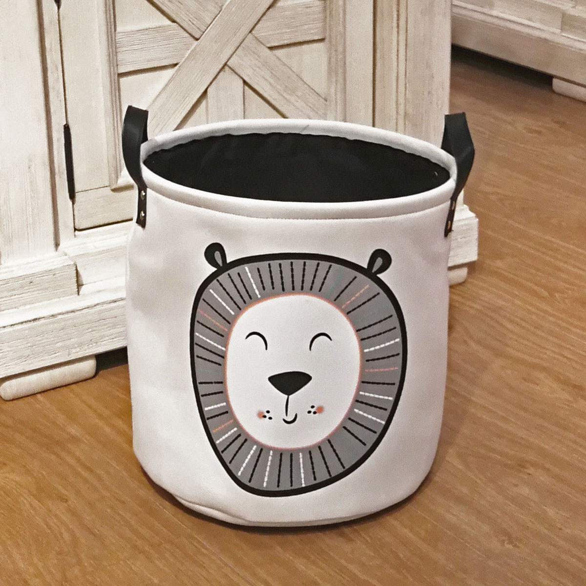 Корзина для игрушек, белья, хранения Lion Berni Home