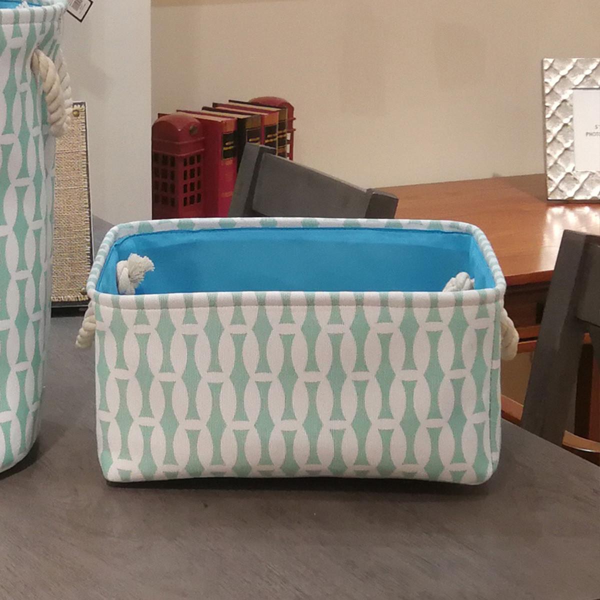 Корзина для игрушек, белья, хранения Голубой бамбук Berni Home