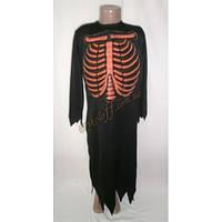 """Детский костюм """"Скелет"""", комбинезон красные кости (был в прокате)"""