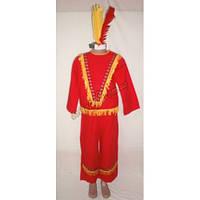 """Детский костюм """"Красный индеец"""" (был в прокате)"""