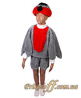 """Детский костюм """"Снегирь"""", мех"""