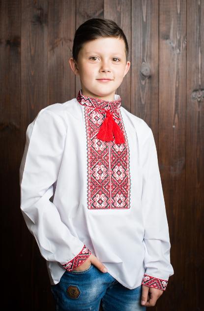 """Интересная вышиванка для мальчика """" Иванко"""""""