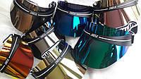 Пластиковые козырьки на голову от солнца, копия Dior