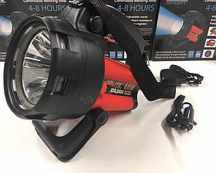 Фонарь Gdlite GD-2621 переносной аккумуляторный, фонарь прожектор, светодиодный фонарь