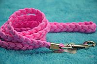 Поводок для собак капроновый плетеный 120см, фото 1