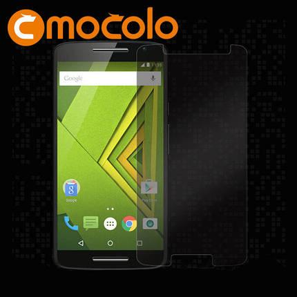 Защитное стекло Mocolo 2.5D для Motorola Moto X Play Transparent, фото 2