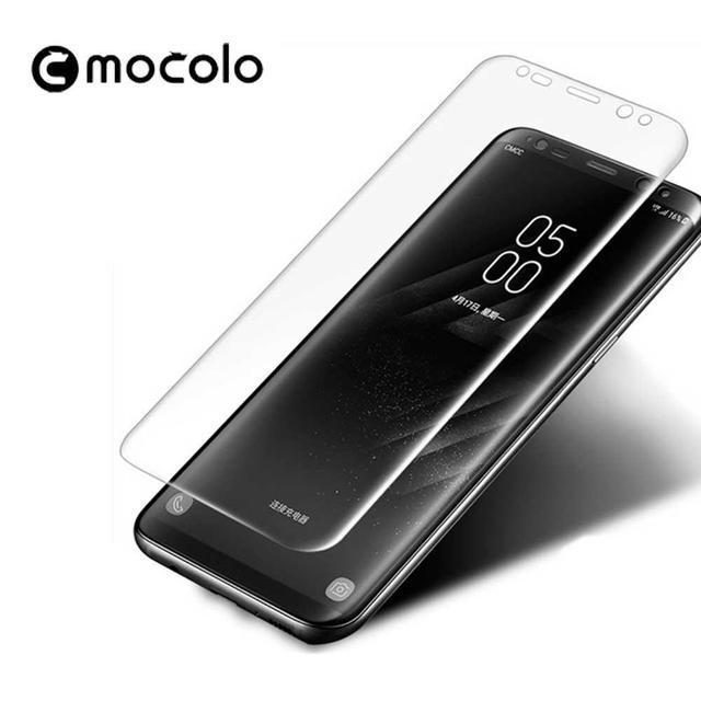 Защитное стекло Mocolo 3D Full Glue для Samsung Galaxy Note 8 прозрачный