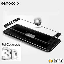 Защитное стекло Mocolo 3D Silk для Samsung Galaxy S7 Edge G935 черный
