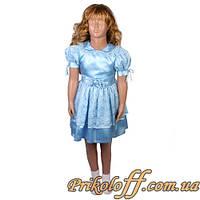 """Детское платье """"Голубое"""" (было в прокате)"""