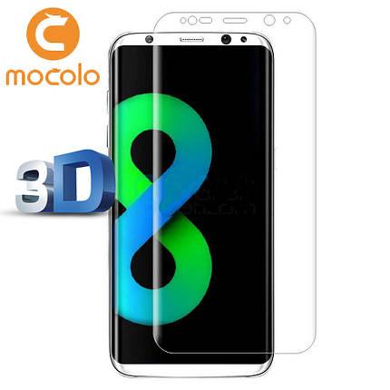 Защитное стекло Mocolo 3D для Samsung Galaxy G955 S8 Plus прозрачный, фото 2