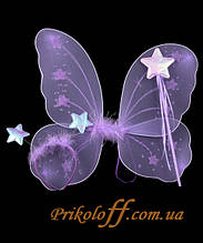 Набір метелики, бузковий 38 х 40 см