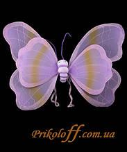 Крила метелика, сереневые 70 х 48 см