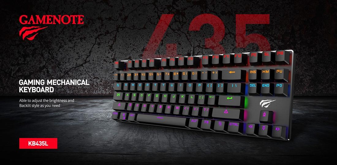 Клавиатура HAVIT HV-KB435L black