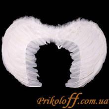 Крила Ангела, білі 55*40 см