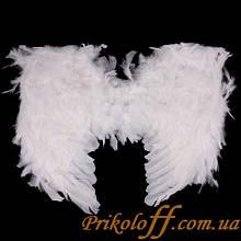 Крила ангела, білий пух (50*45 cm)
