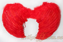 Крила ангела, червоні 53*35