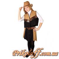 """Подростковый костюм """"Ковбойка"""" (размер 38-42 - S-M )"""