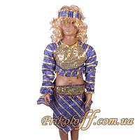 """Детский костюм """"Восточная красавица в синем"""", 110-130 см."""