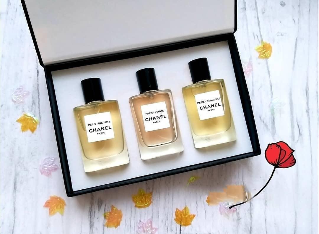 Женский подарочный набор CHANEL 3 В 1 ( 3 парфюма по 30 мл)