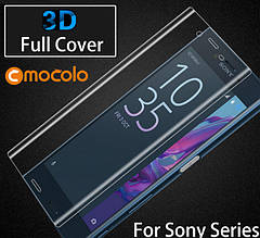 Защитное стекло Mocolo 3D для Sony Xperia XA1 Plus Transparent