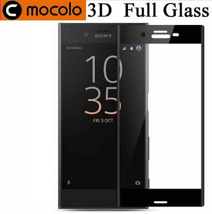 Защитное стекло Mocolo 3D для Sony Xperia XZ1 Compact черный, фото 2