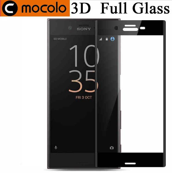 Защитное стекло Mocolo 3D для Sony Xperia XZ1 Compact черный