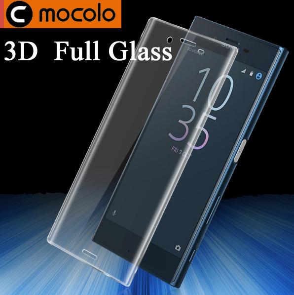 Защитное стекло Mocolo 3D для Sony Xperia XZs XZ F8332 прозрачный