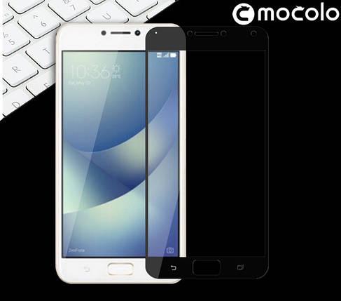Защитное стекло Mocolo Full сover для Asus Zenfone 4 Max ZC554KL черный, фото 2