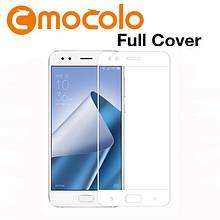 Захисне скло Mocolo Full сover для Asus Zenfone 4 ZE554KL білий