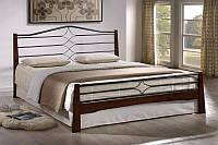 Кровать двухспальная Флоренс.Натуральное дерево
